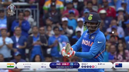 CWC19 SF: IND v NZ – Boult gets the big wicket of Jadeja
