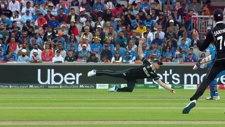 Nissan POTD – Neesham takes a superb catch to dismiss Karthik