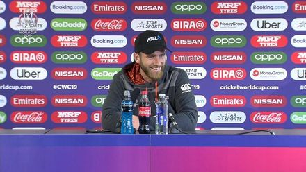 CWC19 SF: IND v NZ – Kane Williamson post-match press conference