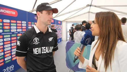 CWC19 SF: ICC Insider Ridhima Pathak interviews Matt Henry