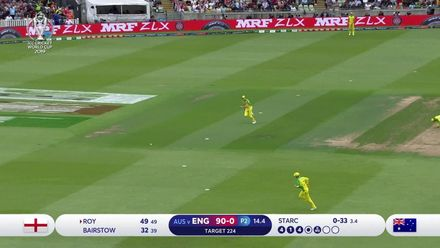 CWC19 SF: AUS v ENG - Roy's quickfire 85 sets up England chase