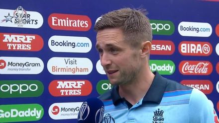 CWC19 SF: AUS v ENG - Player of the Match, Chris Woakes