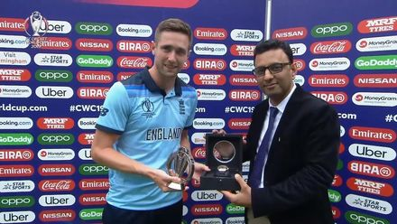 CWC19 SF: AUS v ENG - Hublot Player of the Match, Chris Woakes
