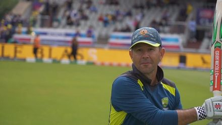 CWC19 SF: AUS v ENG - Has Ponting still got it with the bat?