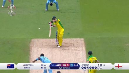 CWC19 SF: AUS v ENG - Archer deceives Maxwell for pace