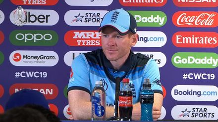 CWC19 SF: AUS v ENG -  Eoin Morgan media conference