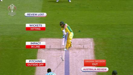 CWC19 SF: ENG v AUS - Archer dismisses Finch for a golden duck