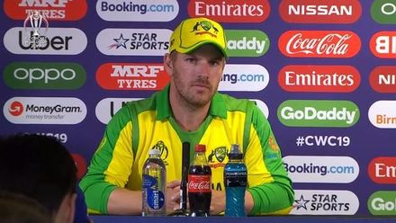 CWC19 SF: AUS v ENG - Aaron Finch media conference