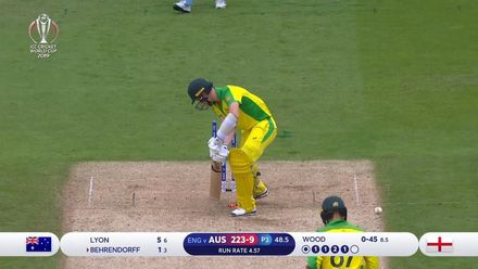 CWC19 SF: AUS v ENG - Uber Eats Best Deliveries