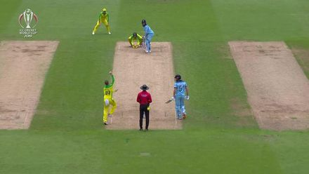 CWC19 SF: AUS v ENG - All of Roy's sixes