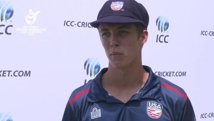 ICC U19 CWC Americas Q: Argentina v USA – Post-match interview with USA Captain Joshua Kind