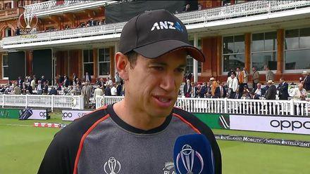 CWC19 Final: NZ v ENG – Ross Taylor pre-match interview