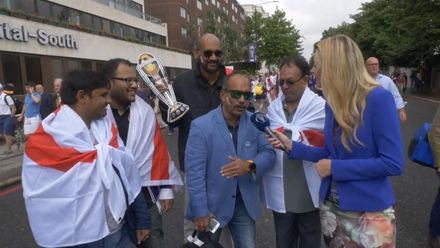 CWC19 Final: NZ v ENG – Fans arrive at Lord's