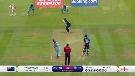 CWC19 Final: NZ v ENG – New Zealand innings highlights