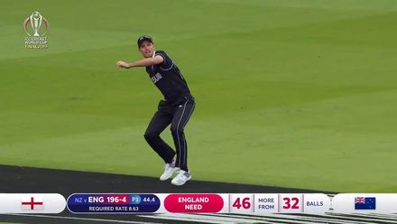 CWC19 Final: NZ v ENG – Southee holds his nerve to remove Buttler