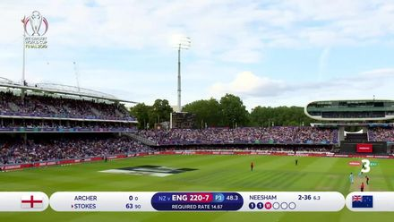 CWC19 Final: NZ v ENG – Bira 91 Super Sixes