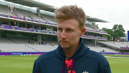 CWC19 Final: NZ v ENG – Joe Root pre-match interview
