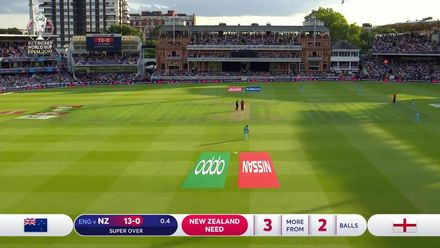 CWC19: Final – Second Super Over