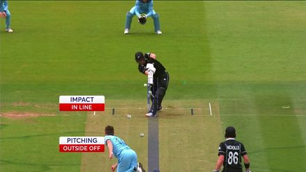 CWC19 Final: NZ v ENG – England's wickets