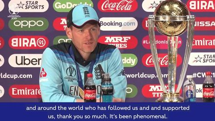 CWC 19: Final – Eoin Morgan: Post-match press conference