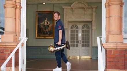 Winning Captain Photocall - ICC Cricket World Cup 2019 Final