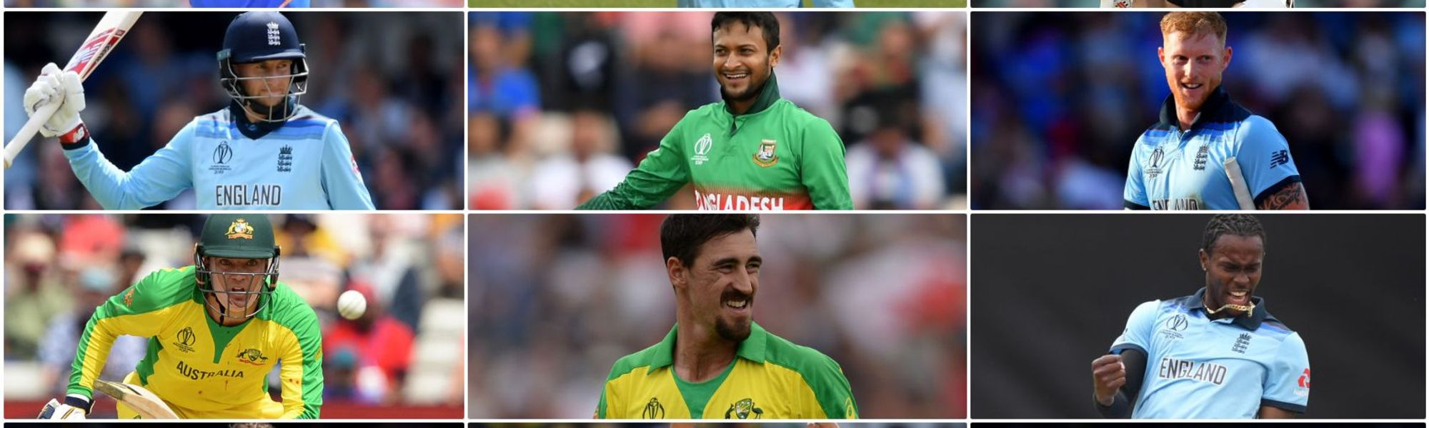 CWC19: Team of the Tournament