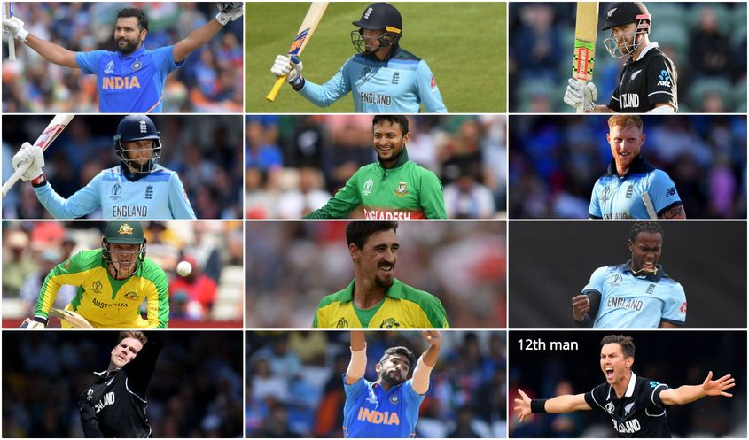CWC19 team of the tournament