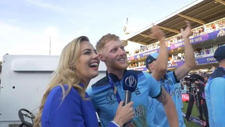 CWC 19: Ben Stokes and Moeen Ali cannot contain their happiness
