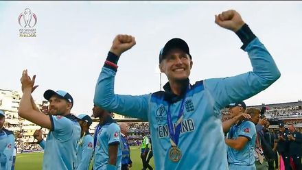 CWC19: NZ v ENG - England's victory lap
