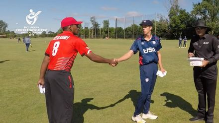 ICC U19 CWC Americas Q – USA v CAN: Match highlights