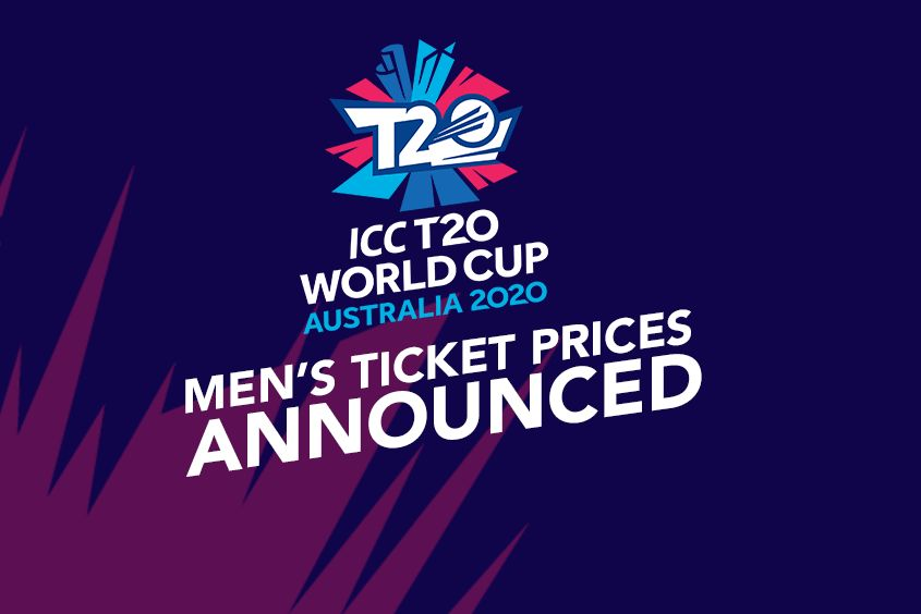 Next T20 World Cup 2020.Ticket Prices Announced For Icc Men S T20 World Cup 2020