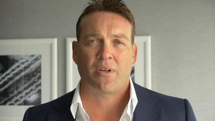 Jacques Kallis congratulates Allan Donald on ICC Hall of Fame honour