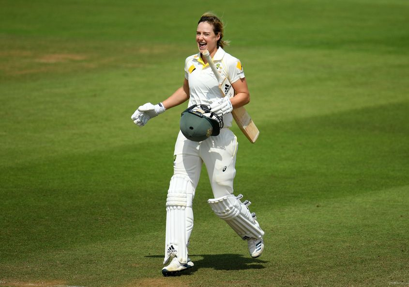 Perry became only the fourth woman to hit back-to-back Ashes centuries