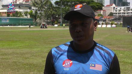 ICC T20 World Cup Asia Q: SIN v MAL – Malaysia captain Ahmad Faiz interview