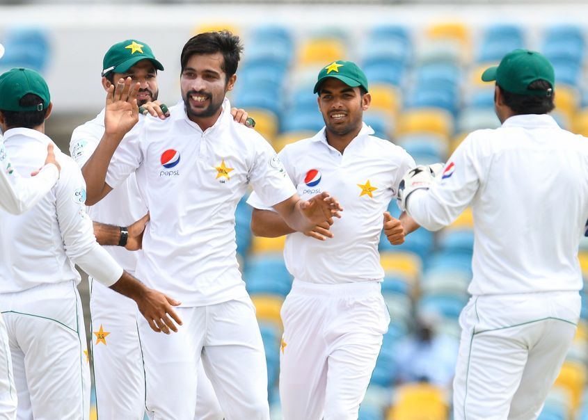 Mohammad Amir picked up his best figures of 6/44 against West Indies in 2017