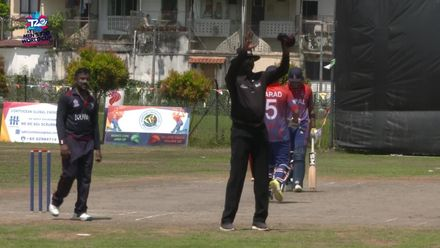 ICC T20WCQ Asia: Kuw v Nep – Highlights of Nepal skipper Paras Khadka's 42-ball 68