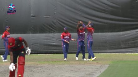 ICC T20WCQ Asia: Sin v Nep – First innings wickets package