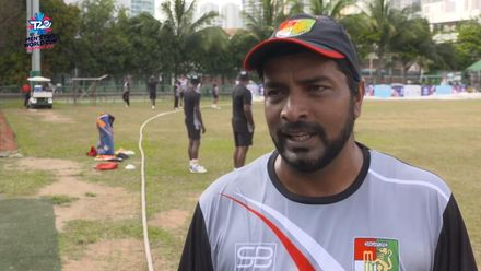 ICC T20WCQ Asia: Sin v Nep – Singapore captain Amjad Mahboob pre-match interview
