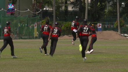 ICC T20WCQ Asia: Sin v Nep – Singapore fielder takes a spectacular catch in the deep