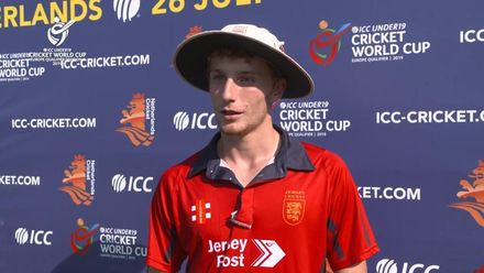 U19 CWC Europe Q: Jer v Den – Player of the Match Julius Sumerauer interview