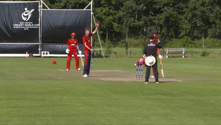 U19 CWC Europe Q: Jer v Den – Jersey's Julius Sumerauer of Jersey wins POM for his all-round performance