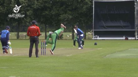 U19 CWC Europe Q: Sco v Ire – Steady start for Scotland as they score 45/0 in 10