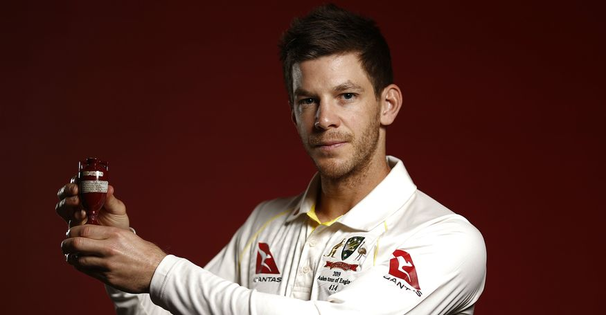 Australia will be led by wicket-keeper batsman Tim Paine