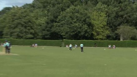 Women's Global Development Squad v Surrey Stars - Hannah Jones takes a one-hander