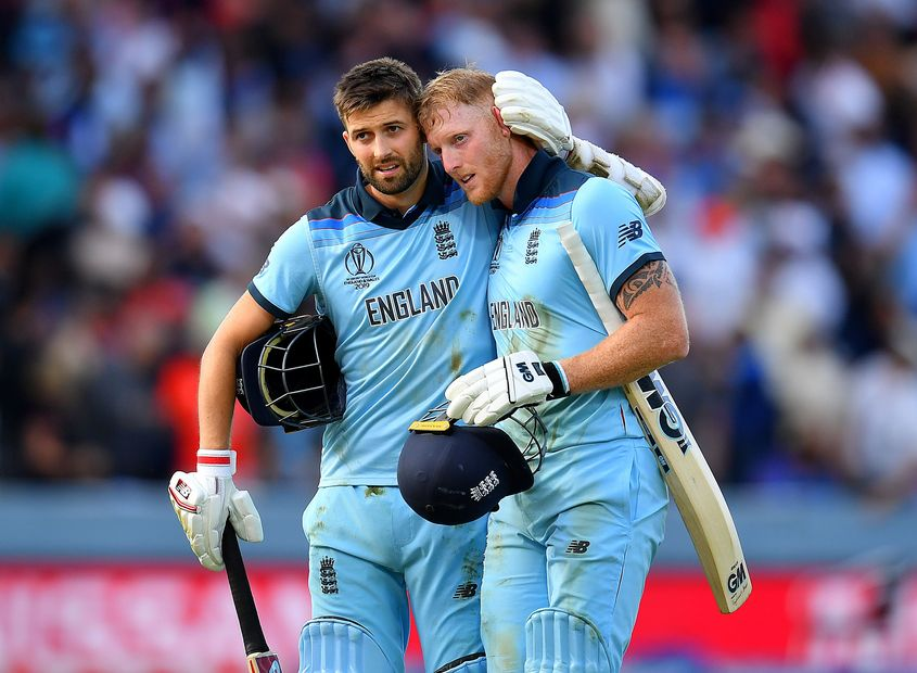 Mark Wood injured his side during the World Cup final