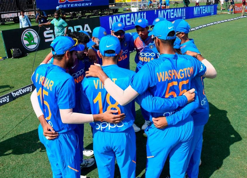 India's bowlers performed well as a unit to limit West Indies to 95/9 from their 20 overs