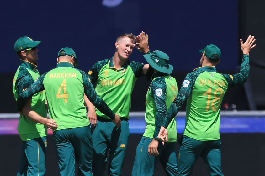 South Africa won only 3 out of their 9 games in 2019 World Cup