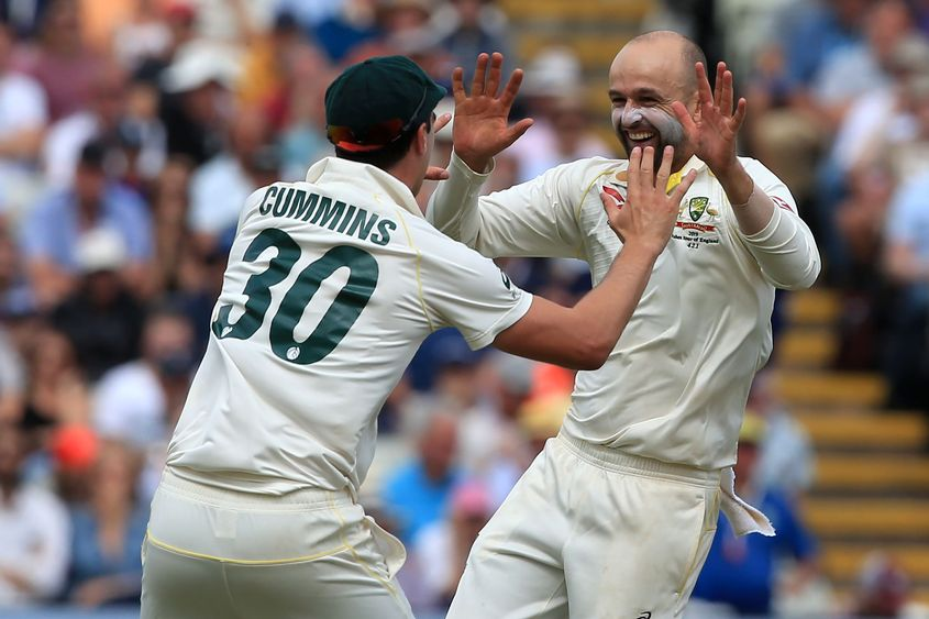 Pat Cummins and Nathan Lyon shared 10 wickets between them on the final day of the Edgbaston Test