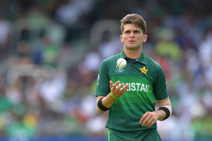 The 19-year-old Shaheen Afridi picked up 16 wickets for Pakistan at the 2019 World Cup
