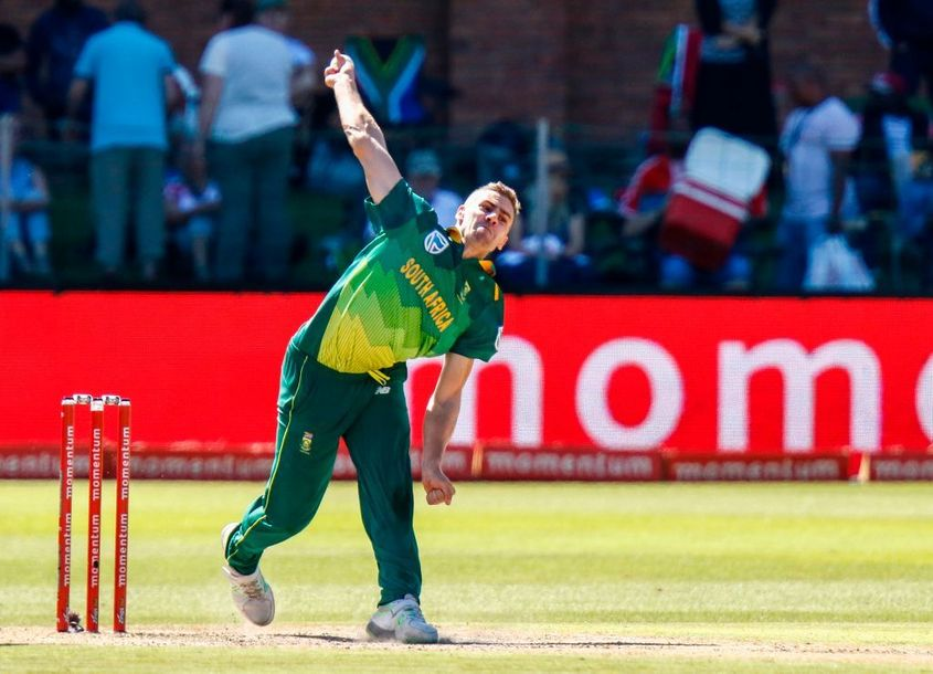 Anrich Nortje has played four ODIs for South Africa